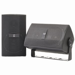 PolyPlanar Component 3'' Box Speakers - (Pair)Gray