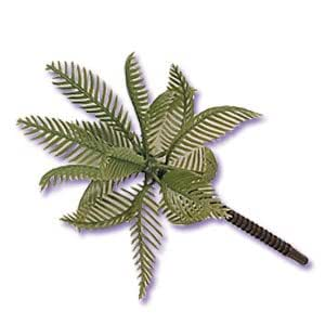 Large Plastic Palm Trees for Cake Decorating - 6 pc