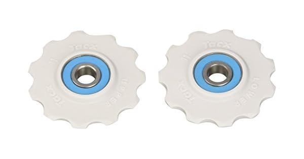 Shimano//Campagnolo 11 teeth T4065 Ceramic Bearing Pulleys Tacx