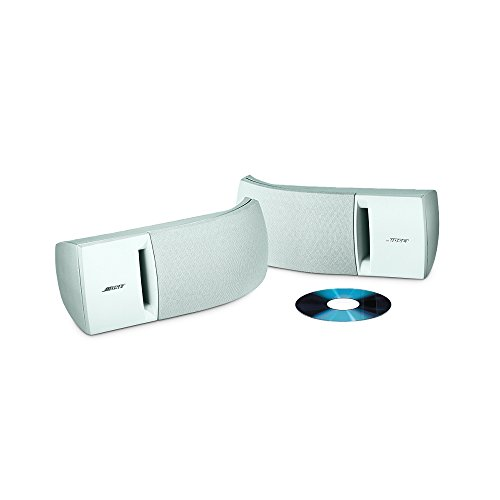 Bose 161 speaker system (pair, white) - ideal for stereo or home theater - Bose In Home Theater