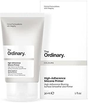 Face Makeup: The Ordinary High-Adherence Silicone Primer