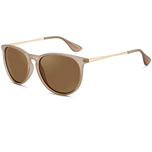 - polarized sunglasses for women men - FEIDU retro womens sunglasses oversized style aviator sunglasses 4171 (Lotus color, 14.5)