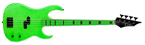 Dean Custom Zone Bass, Nuclear Green by Dean Guitars