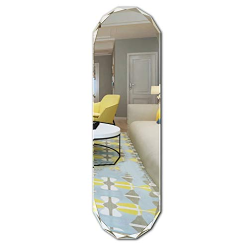 Full Length Mirror,Oval Free Standing Leaner Mirror, used for sale  Delivered anywhere in Canada