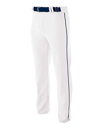 A4 N6162-WHN Pro-Style Open Bottom Baseball
