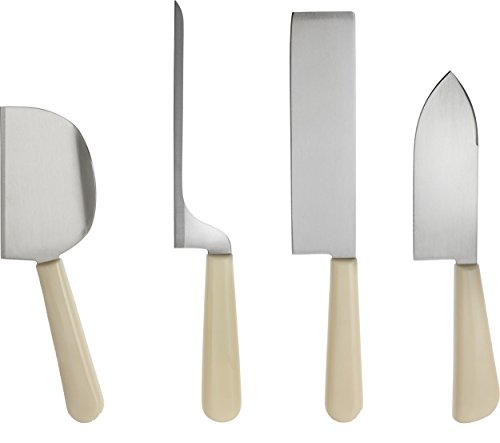 Alessi GAG500S3 Milky Way Minor Set Cheese K Knives, Multicolor by Alessi