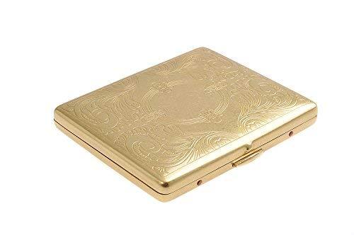 Quantum Abacus Cigarette Case made of copper, modern elegance, holds 9 cigarettes, Mod. KC6-08 - Cigarette Made