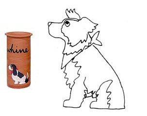 Australian Shepherd Whine Cooler