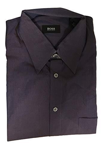 Hugo Boss Martinx Men's Purple Dress Shirt Size 16