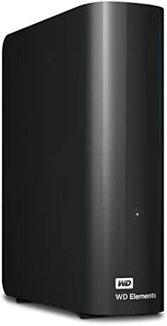 WD 10TB Elements Desktop Hard Drive - USB 3.0 - WDBWLG0100HBK-NESN