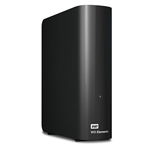 WD 10TB Elements Desktop Hard Drive - USB 3.0 - WDBWLG0100HBK-NESN (2tb External Hard Drive Without Power Supply)