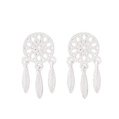 Dream Catcher Earrings earings Dangler Eardrop Sterling Silver Women Gift Ideas Women Girls Delicate Personalized Influx People Student - Dreamcatcher Sterling