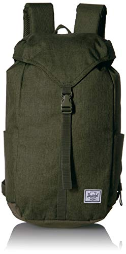 Herschel Thompson Backpack, Olive Night Crosshatch, One Size