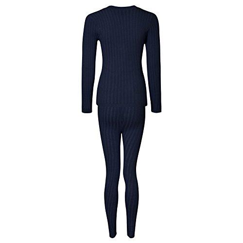 Noir Fashions Bleu Momo Para Mujer Marine Leggings wqXCrCdI6R