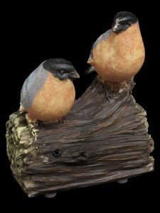Price comparison product image Easysensor Black/Grey/Orange Whistling Birds With Sensor