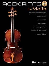 Hal Leonard Rock Riffs for Violin - Book/CD