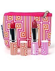 - Clinique Pop Lip Color + Primer Lipstick Set, Punch Pop, Plum Pop