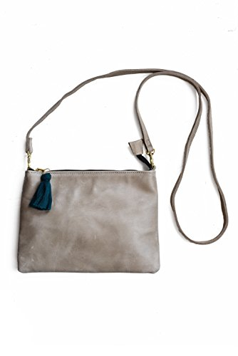 and Convertible amp; Wristlet Purse Clutch Women's Gray Crossbody PR4wqvH