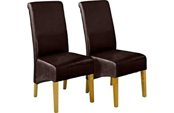 Wondrous Schreiber Woburn Pair Of Chocolate Skirted Dining Chairs Ibusinesslaw Wood Chair Design Ideas Ibusinesslaworg