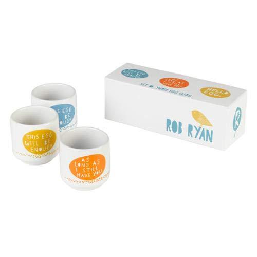 OKSLO Hello egg set of egg cups