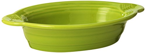 Fiesta 9-Inch by 5-Inch Individual Oval Casserole, Lemongrass]()