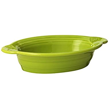 Fiesta 9-Inch by 5-Inch Individual Oval Casserole, Lemongrass