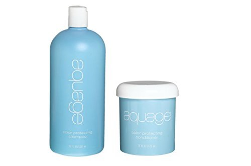 Aquage Color Protecting Shampoo 35 oz & Color Protecting Conditioner 16oz (Colour Protecting Conditioner)