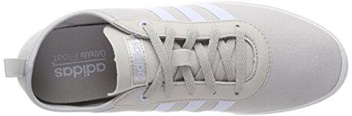 adidas Women's Qt Vulc 2.0 Fitness Shoes, Nero Grey (Grey Two/Aero Blue/Footwear White 0)