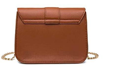 Borsa tracolla borsa Medium Borsa tracolla tracolla a Rosso Colore donna Borsa da nera a Marrone Dimensione Piccola a vintage PnHwTcwxI0