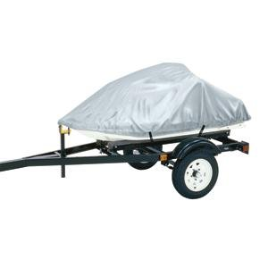 Dallas Manufacturing Co. Polyester Personal Watercraft Cover A, Fits 2 Seater Model Up To 113l X 48w X 42h - Silver