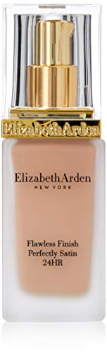 Satin Foundation Finish - Elizabeth Arden Flawless Finish Perfectly Satin 24hr Broad Spectrum SPF 15 Makeup, Cameo, 1.0 fl. oz.