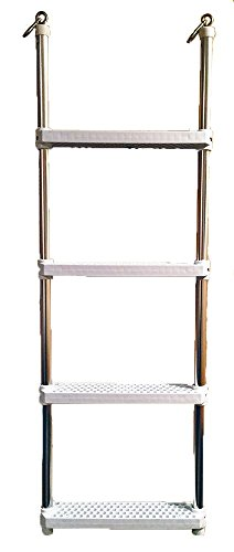 Island Hopper Aluminum Upgraded Ladder for Water Trampolines and Water Bouncers