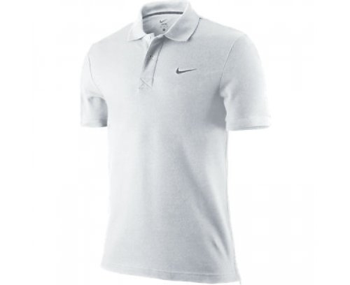 Nike manga hombre Gris heather corta para grey Pique Blanco Classic Oscuro de white dark Polo Fw0rFqI