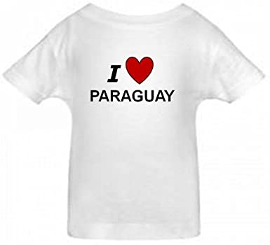 Amazon.com: I LOVE PARAGUAY - PARAGUAY TODDLER - Country ...