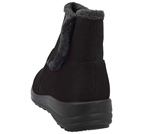 Foderato Foderato Caldo Comfort camoscio Walk 3 3 3 Donna nbsp; in Taglia Cushion Casual Pelliccia Finto Stivaletti Scarpe IqTC0Cw