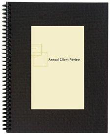 GBC2001891 - GBC Premium Rigid Plastic Report Cover Set With Window