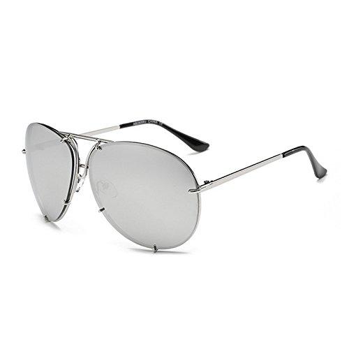 Gafas gran del hombres marca Kim Mujer dise sol de de Horrenz o o gafas Mujeres del Kardashian 1 tama sol Tipo de de Superstar Hombre espejo sol Rznwt