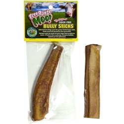 Free Range Dog Chews Moo! Monster Bully Stick 5-6