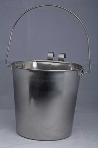 Indipets-Heavy-Duty-Flat-Sided-Stainless-Steel-Pail-1-Quart