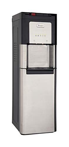 - Whirlpool Self Cleaning, Hot and Cold, Stainless Bottom Load Water Cooler with LED Indicators