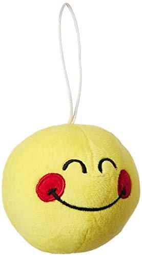 Webby Smiley Soft Plush Ball, 10cm