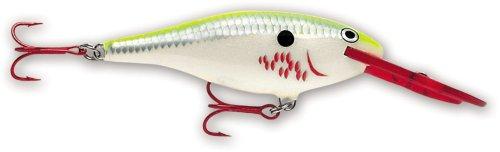 Rapala Shad Rap 07 Fishing lure (Bleeding Chartreuse Shad, Size- 2.75)