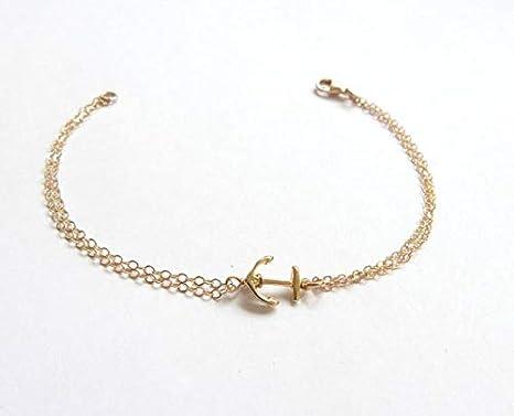 Silver Qiaoying Fashion Jewelry Anchor Bracelet Friendship Adjustable Charm Compass Bracelet Women Girls Jewelry Birthday Graduation Gift for Her
