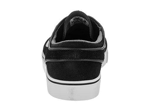 Nike Herren Zoom Stefan Janoski Skateschuh Schwarz / Weiß / Gum Hellbraun