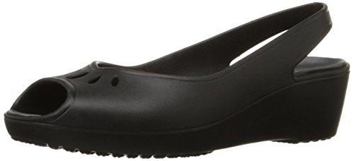 crocs Frauen Mabyn Mini Wedge Black