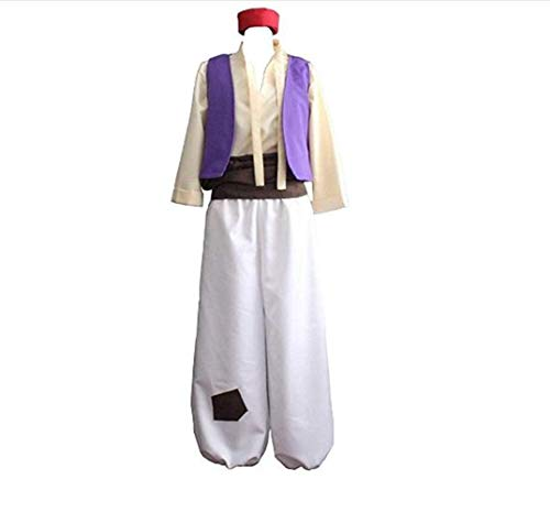 Men's Cosplay Arabian Prince Halloween Costume Aladdin Street Rat Suits
