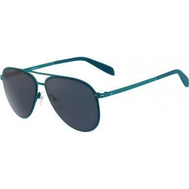 Calvin Klein Platinum CK2138S-336 Turquoise CK2138S Sunglasses