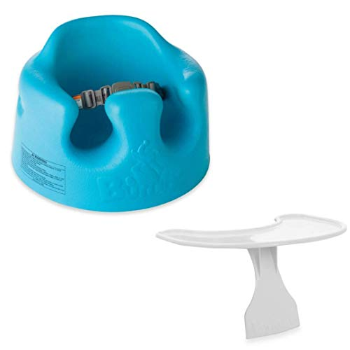 Bumbo Seat Blue Bundled with Play Tray