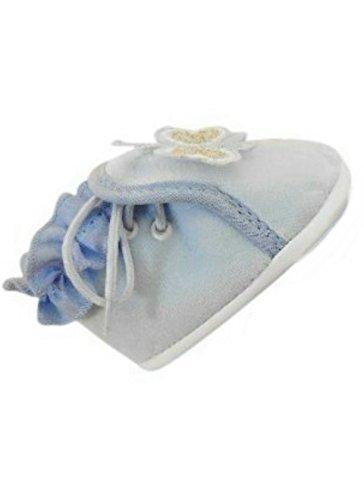 Festlicher Schuh für Taufe oder Hochzeit - Taufschuhe für Baby Babies Mädchen Kinder, in verschiedenen Größen, TP22 Gr. 16-19