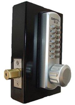 Lockey 3210 Marine Grade Single Sided Adjustable Mechanical Combination Deadbolt, Marine Grade